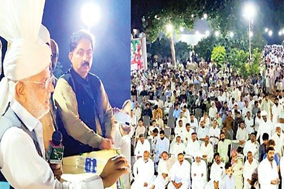 عمران خان مافیا کے سامنے گھٹنے نہیں ٹیکیں گے :اعجاز چودھری