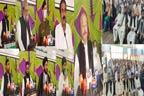سپورٹس جمنازیم میں عظیم الشان محفل میلاد مصطفی ؐ کا انعقاد