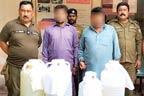 مزید15 ملزم گرفتار،چرس، شراب ، ناجائز اسلحہ برآمد