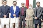 کرغزستان کے دارلحکومت بشکیک  میں پاکستانی سفارتخانے کے زیر  اہتمام محفل میلادالنبیؐ کا اہتمام