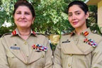 ماہرہ خان کی پاکستان کی پہلی خاتون لیفٹیننٹ جنرل کے ہمراہ تصویر وائرل