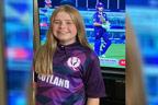 سکاٹش ٹیم کی جرسی ڈیزائن کرنے  والی 12سالہ بچی کے چرچے