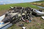 امریکا، طیارہ پرواز بھرتے ہی  گر کر تباہ، مسافرمحفوظ رہے