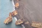 سطح سمندر پر اچانک قدیم تباہ شدہ 24 بحری جہاز نمودار