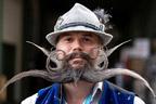 داڑھی ،مونچھوں کی ورلڈچیمپئن شپ،100 سے زائد افراد شریک