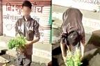 سبزی فروش کی انتہائی کراہیت آمیز حرکت، ویڈیو وائرل