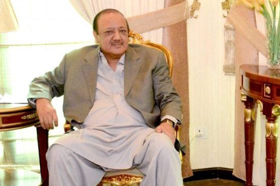 چودھری وجاہت حسین سے  مسلم لیگی رہنماؤں کی ملاقات