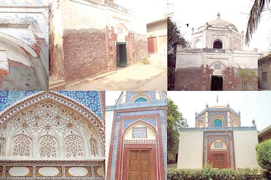 300سال قدیم مقبرہ ''شاہ حسین سدوزئی ''کی تزئین وآرائش مکمل