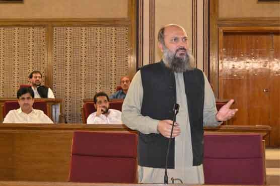 وزیراعلیٰ بلوچستان کے خلاف متحدہ اپوزیشن کی تحریک عدم اعتماد