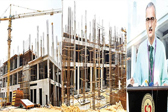 شوکت خانم کینسر ہسپتال کراچی کا تعمیراتی کام جاری:ڈاکٹر عاصم