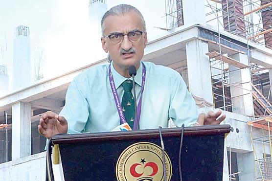 شوکت خانم ہسپتال کراچی کاتعمیراتی کام تیزی سے جاری