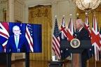 پریس کانفرنس میں امریکی صدر  آسٹریلوی وزیر اعظم کا نام بھول گئے