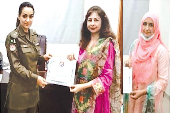جامعہ گجرات:ڈسٹرکٹ پولیس آفس میں تربیتی ورکشاپ