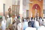 حافظ آباد:پولیس افسروں کی مختلف مساجد میں کھلی کچہریاں