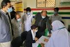 قائدآباد :کمشنر سر گودھا کا تحصیل ہیڈ کوارٹر ہسپتال کا دورہ