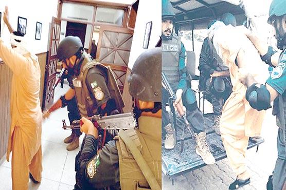 جنوبی پنجاب پولیس آفس میں موک ایکسرسائز کا اہتمام