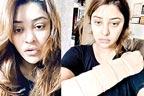 بھارتی اداکارہ تیزاب حملے میں بال بال بچ گئیں