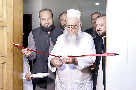 ساجد میر نے کاشف نواز  رندھاوا کے دفترکاافتتا ح کردیا
