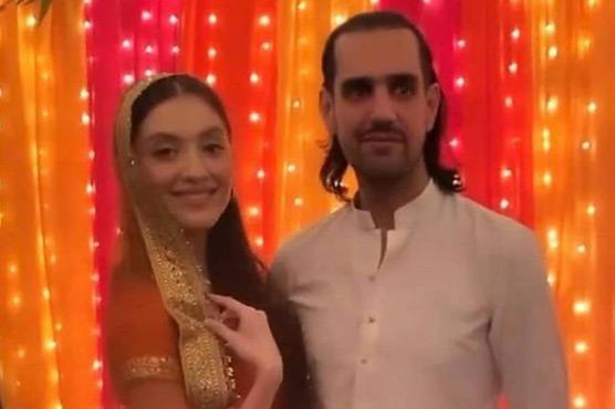 نیہا راجپوت سابق گورنرکے بیٹے شہباز تاثیرکی شادی ہوگئی