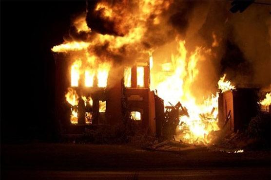 شہری کے گھرمیں آتشزگی ہزاروں کاسامان خاکستر
