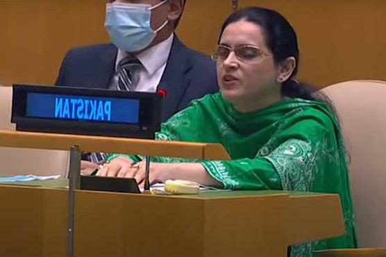 بصارت سے محروم پاکستانی سفارتکار  صائمہ سلیم کے اقوام متحدہ میں چرچے