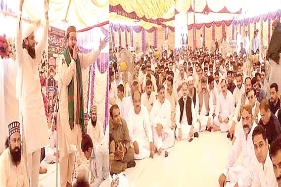 گوجرہ میں باباجی مشتاق  گجر کا عرس وختم پاک