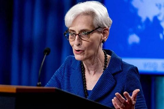 امریکی نائب وزیر خارجہ وینڈی  شرمن 7اکتوبر کو پاکستان آئیں گی