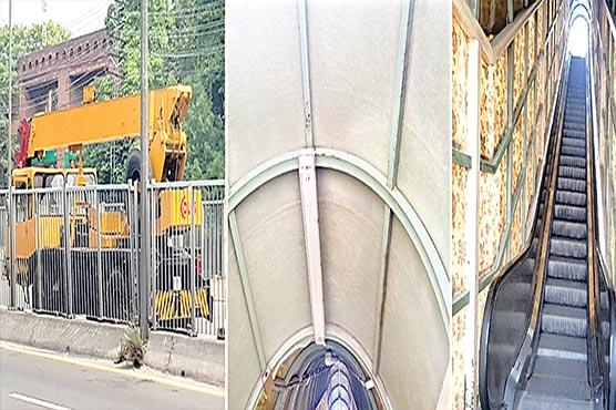 میٹروبس:برقی سیڑھیاں،270لائٹس خراب
