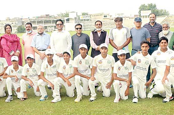 انڈر16 کرکٹ چیمپئن سٹی سکول سیالکوٹ نے جیت لی
