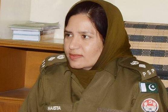 چہلم حضرت امام حسینؓ،ایس  ایس پی آپریشنز شائستہ ندیم نے  سکیورٹی انتظامات کا جائزہ لیا