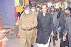 چہلم امام حسینؓ،سی پی او ملتان نے سکیورٹی انتظامات کا جائزہ لیا