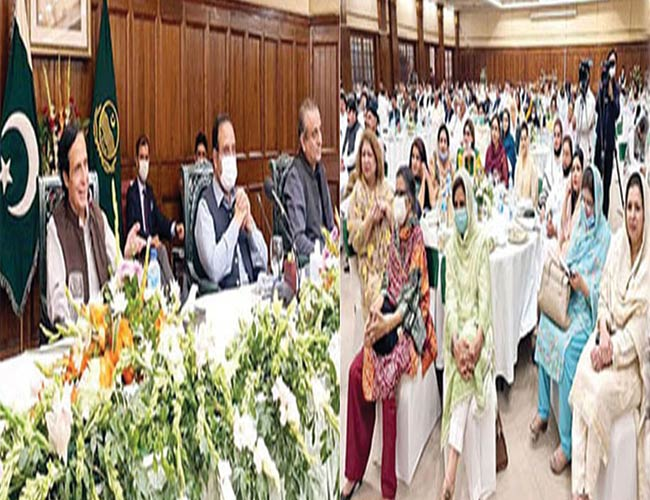 لاہور:وزیراعلیٰ عثمان بزدار اتحادی جماعتوں کی پارلیمانی پارٹی کے اجلاس کی صدارت کرتے ہوئے ،سپیکر پرویز الٰہی ساتھ بیٹھے ہیں