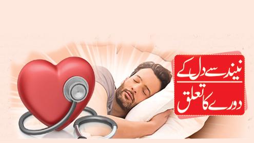 23581 64175685 - نیند سے دل کے دورے کا تعلق